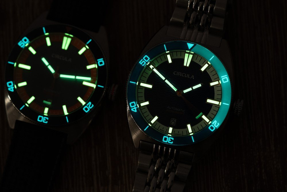 Super-Luminova Uhren
